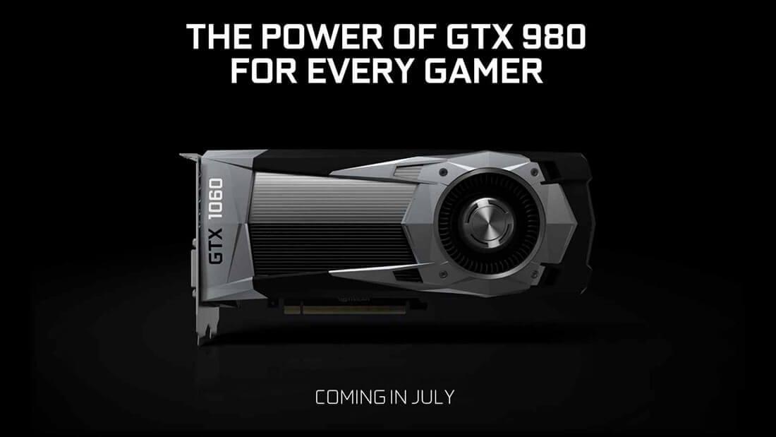 Nvidia soft-launches the GeForce GTX 1060, coming later this month for $249