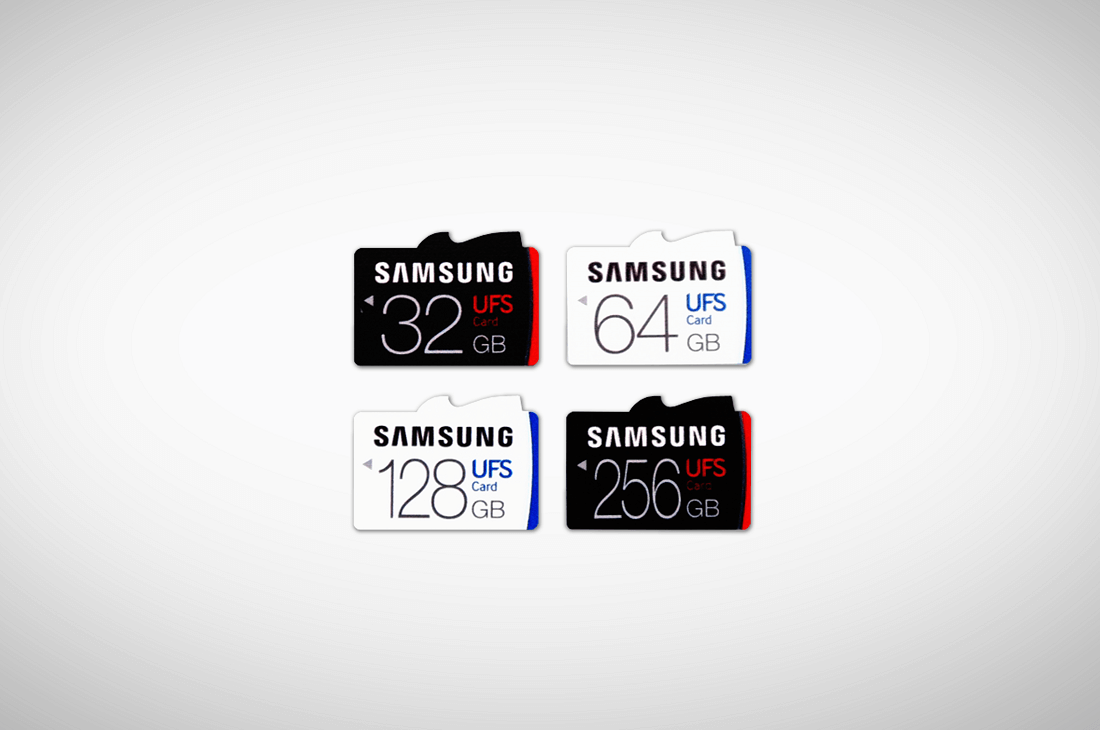 Samsung unveils 256GB UFS memory card that's five times faster than a MicroSD