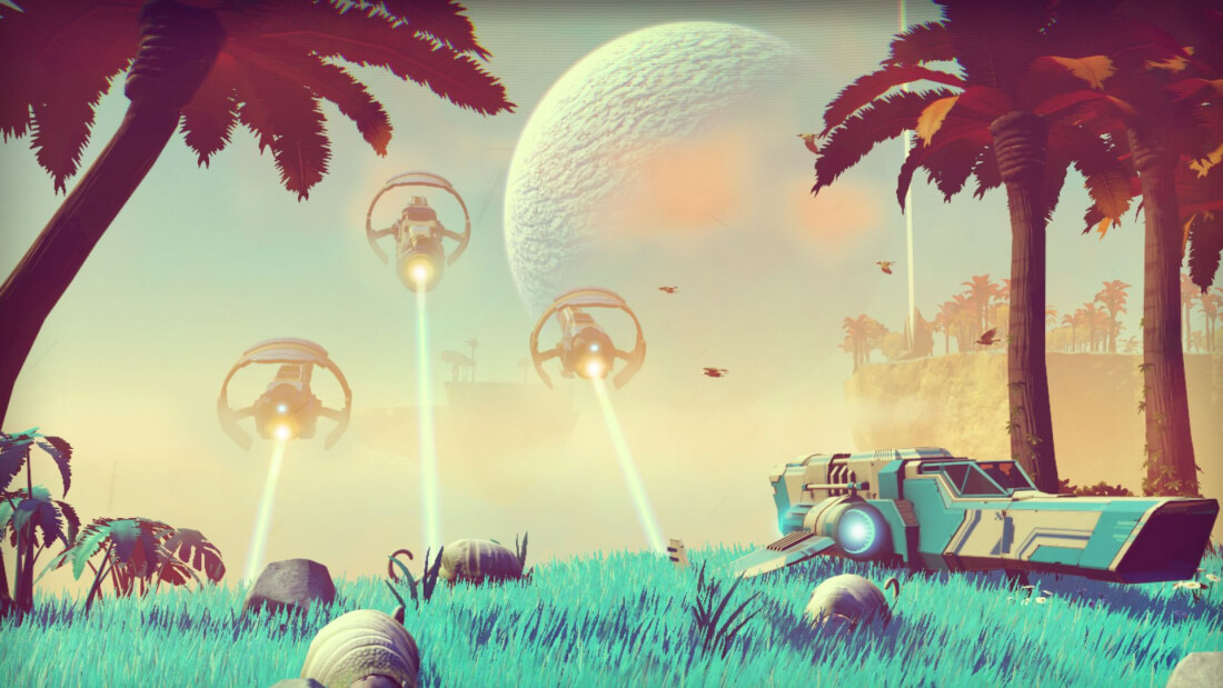 No Man's Sky developer reveals game only takes up 6GB on disc, first update already in works