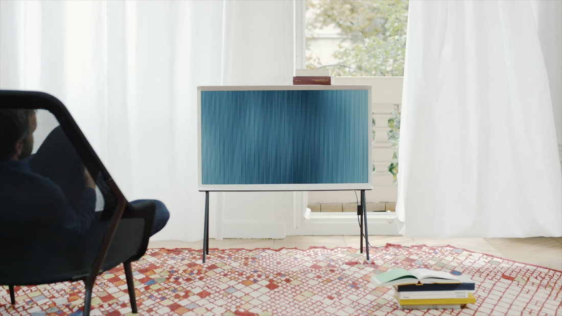 Samsung's font-inspired Serif TV is now available to pre-order