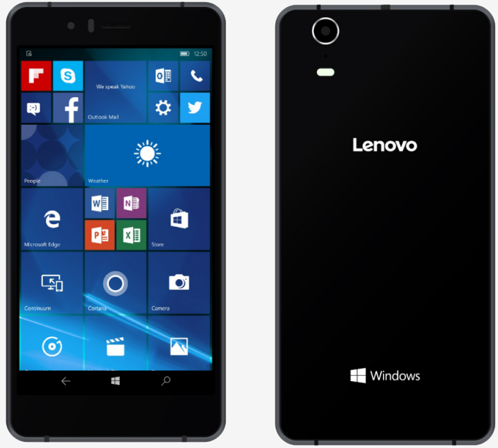 Lenovo unveils its first Windows 10 Mobile smartphone