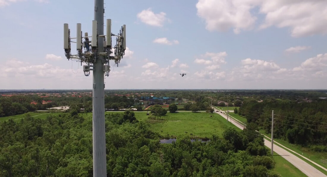 AT&T testing drones to inspect cell towers, boost 4G LTE capacity in crowded places