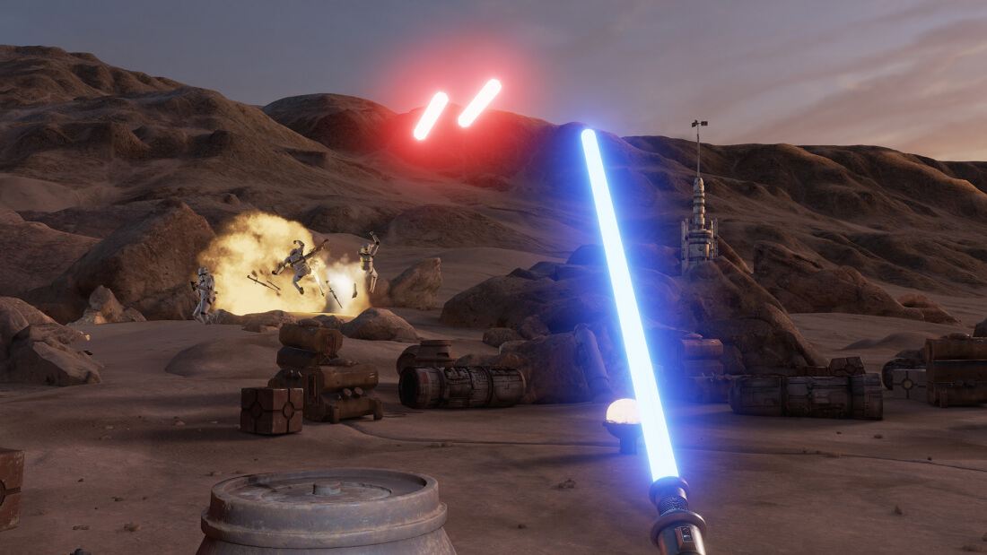 Star Wars virtual reality game, Trials on Tatooine, now available