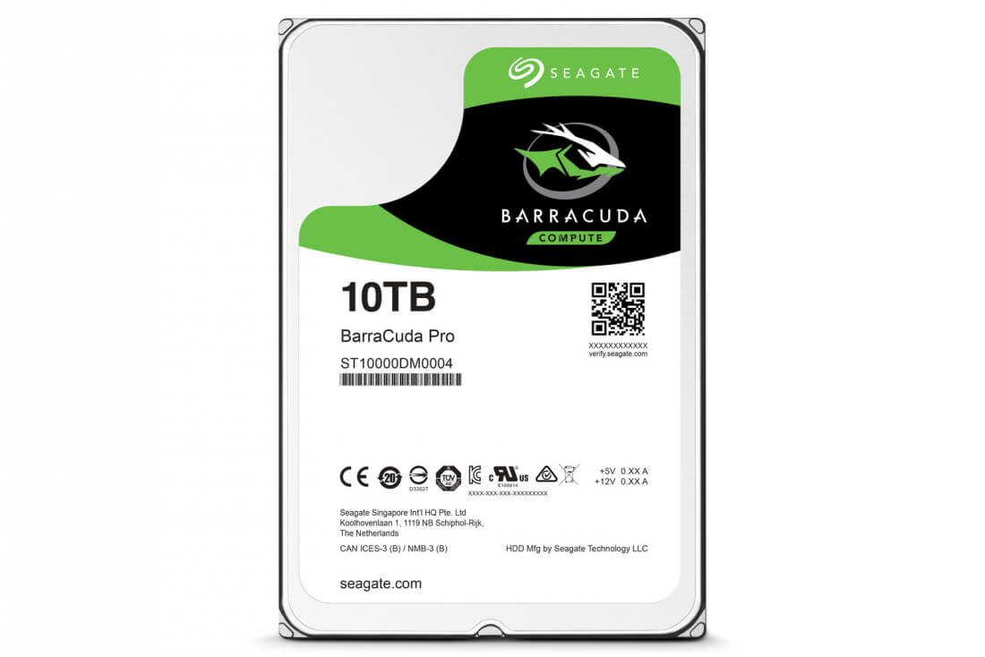 Seagate unveils a 10TB hard drive designed for consumers