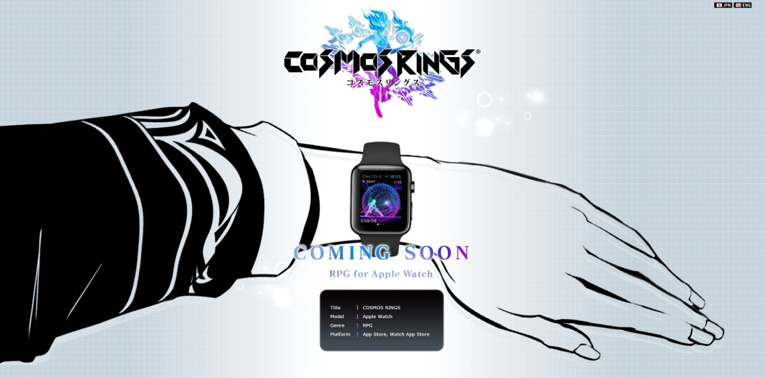 Square Enix is developing an RPG for the Apple Watch called Cosmos Rings