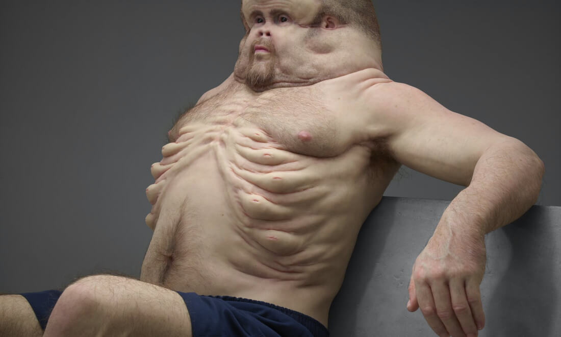 If humans evolved to survive high-speed car crashes, we would look like Graham