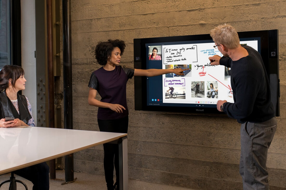Demand for Microsoft's huge Surface Hubs has exceeded expectations