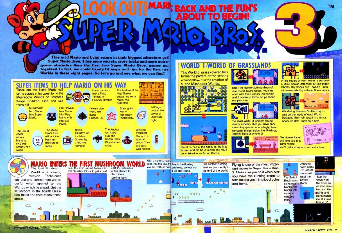 The first 13 years of nintendo power magazine are now Internet magasin