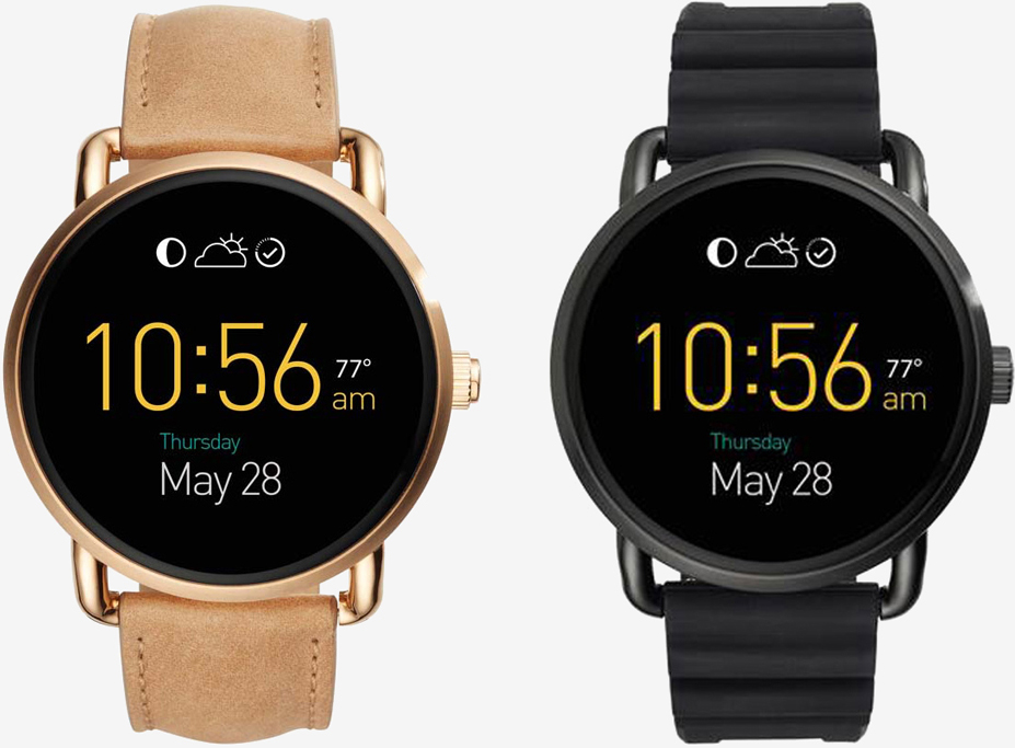Fossil Q Wander and Q Marshal smartwatches up for pre-order soon