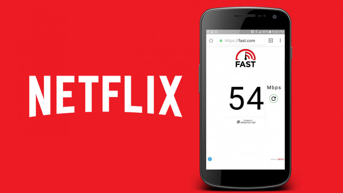 android speed test