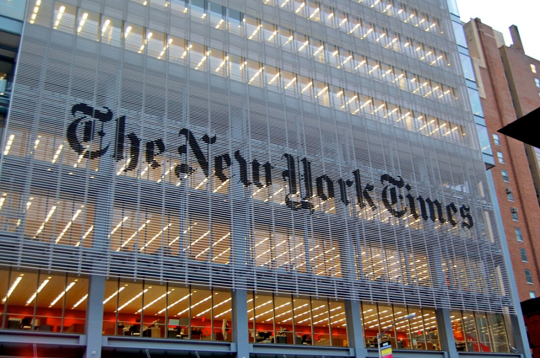 New York Times CEO says print edition of paper could end in ten years