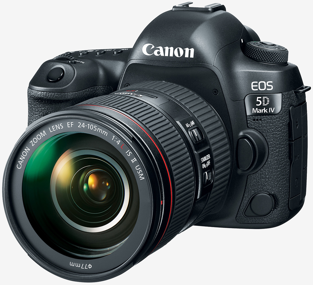 Canon announces 5D Mark IV with built-in Wi-Fi, NFC, 4K video and ...