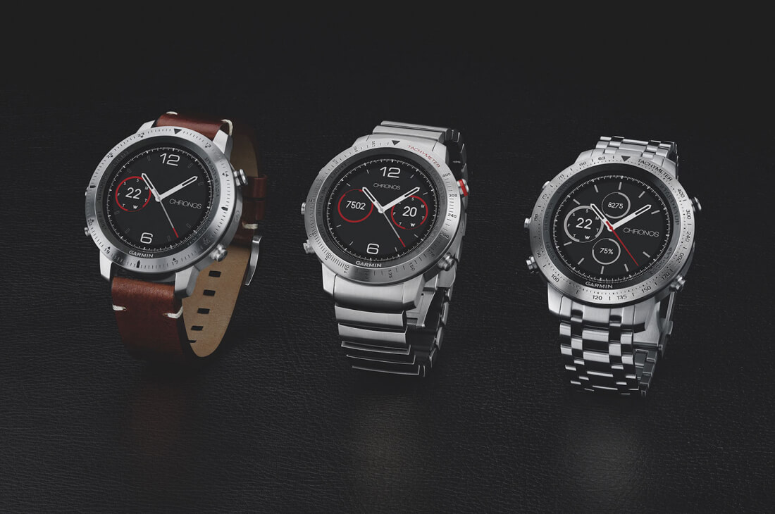 Garmin's high-end Fenix Chronos GPS smartwatch mixes fitness features with luxury style