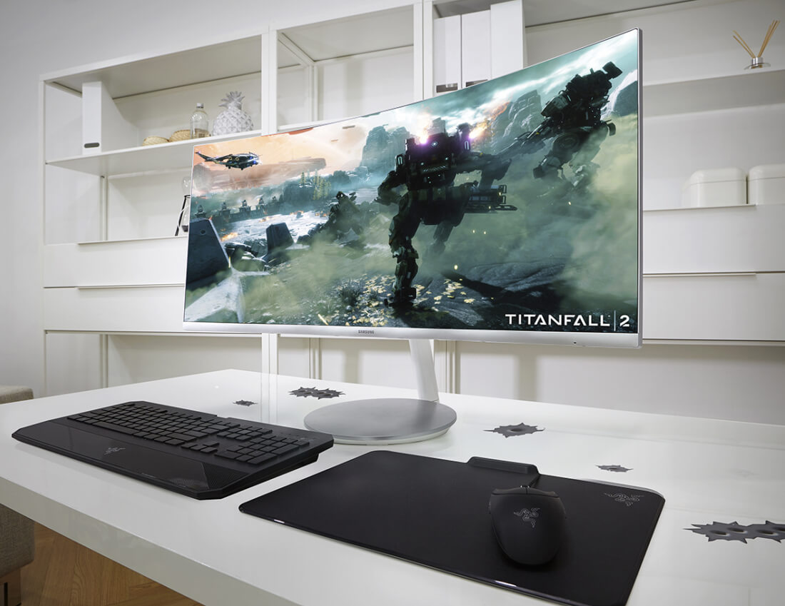 Samsung's curved, quantum dot gaming monitors will be on show at IFA 2016