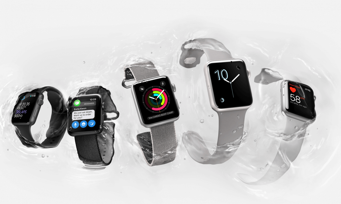Apple Watch Series 2 arrives September 16 with water-proofing, GPS, faster SoC, brighter display