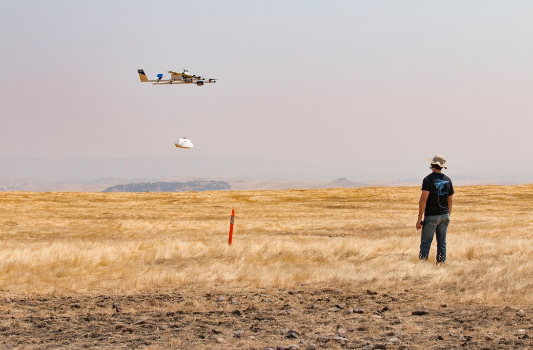 Google will deliver Chipotle burritos using drones this month