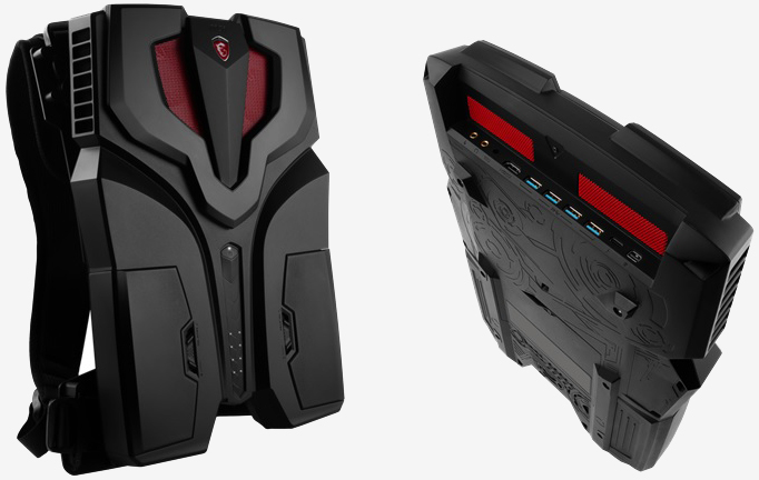 MSI refines backpack PC, calls it the VR One