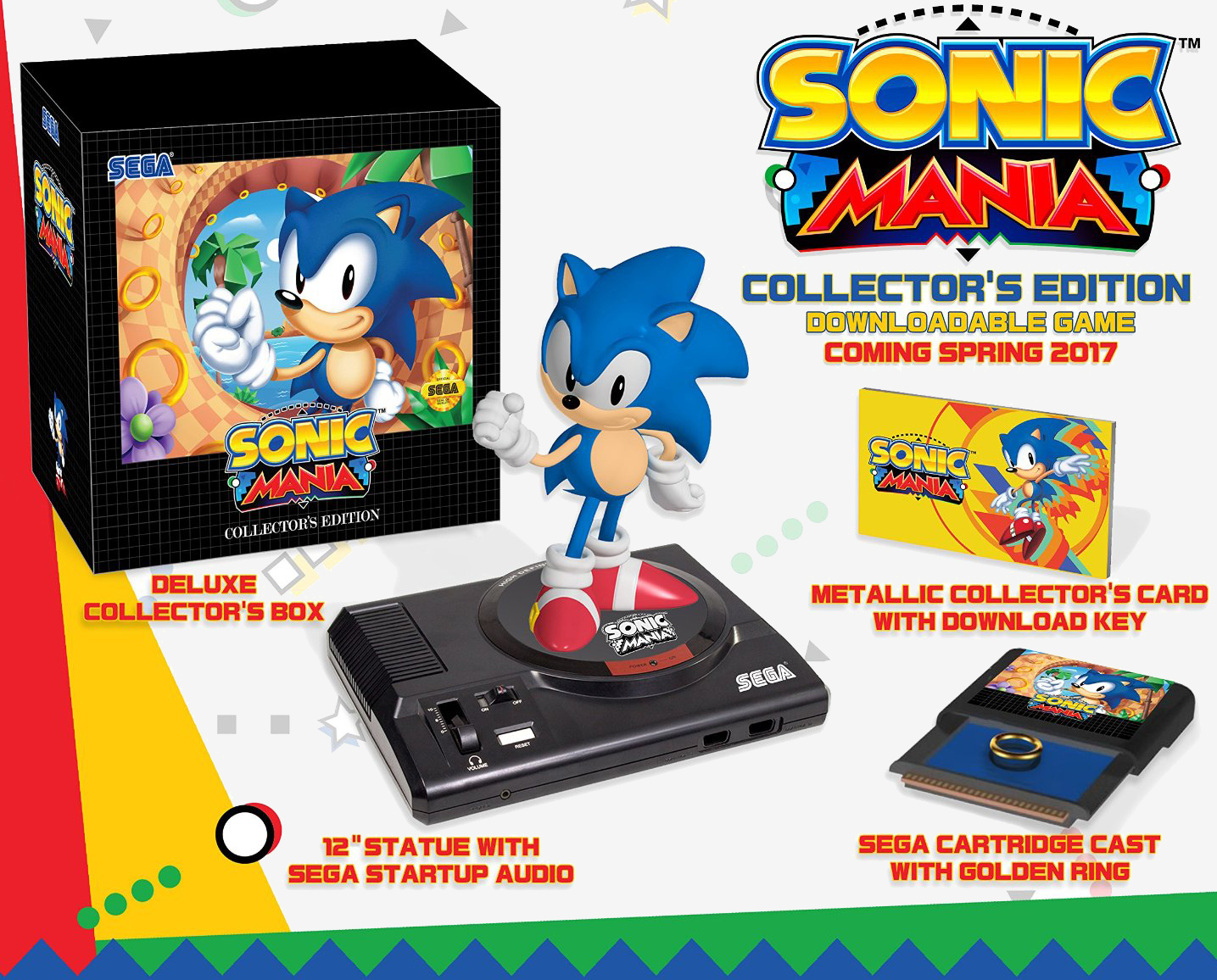 'Sonic Mania' Collector's Edition now available to pre-order