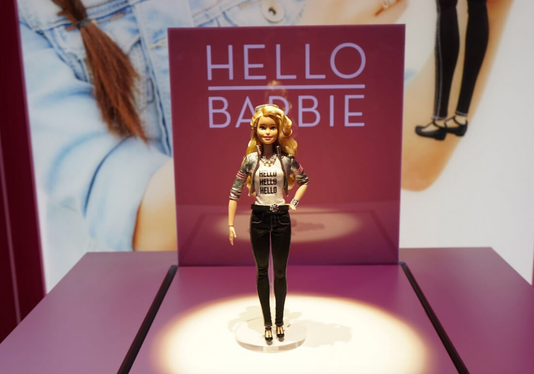 Security expert says hackers can take over Wi-Fi Hello Barbie to steal information and spy on kids