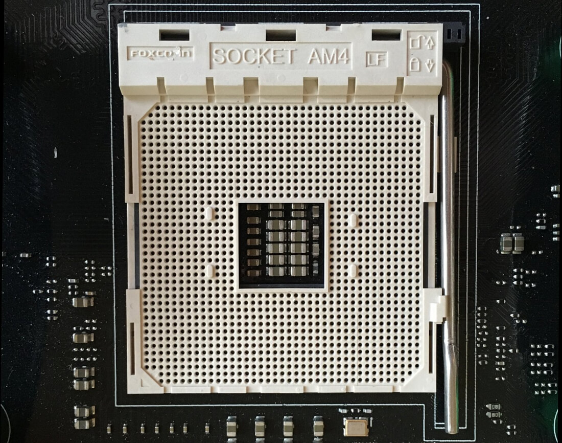 AMD's new AM4 socket spotted in the wild, ready for Zen