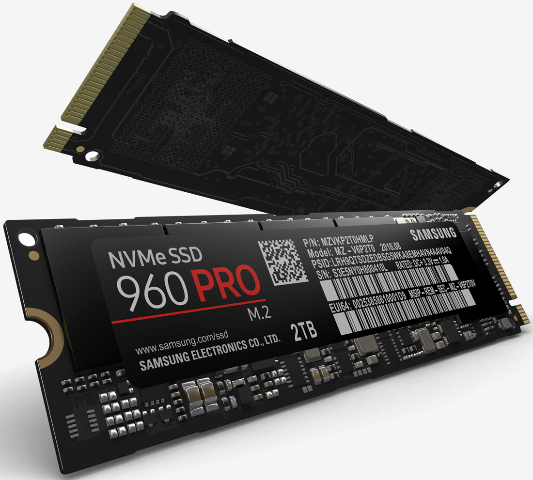 Samsung announces wicked fast 960 Pro, Evo solid state drives