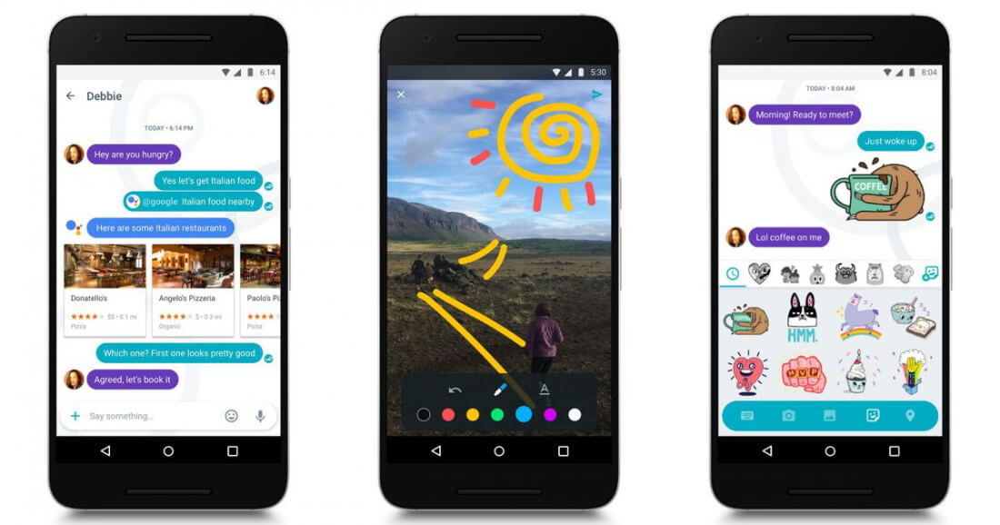 Google finally launches its Allo messaging app