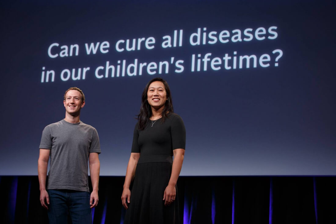 Zuckerberg and Chan launch $3 billion initiative to cure all diseases