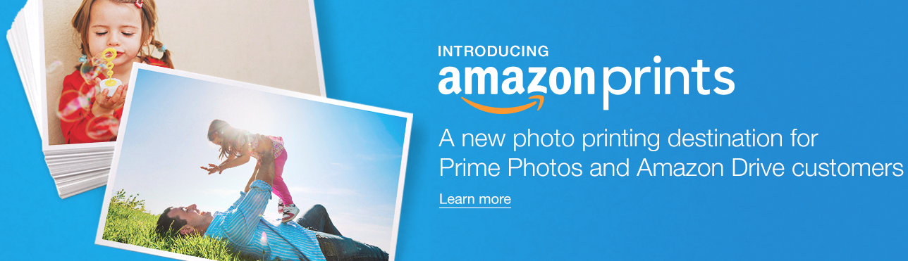 Amazon quietly launches Prints, a photo-printing service