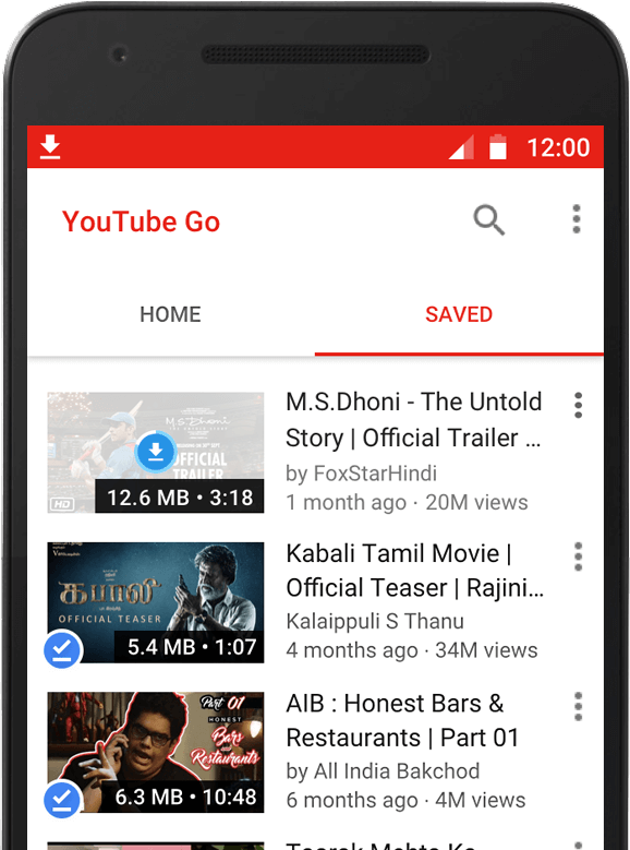 Youtube Go L Application Officielle Pour Télécharger Les: Google Unveils New YouTube Go App For Users With Limited