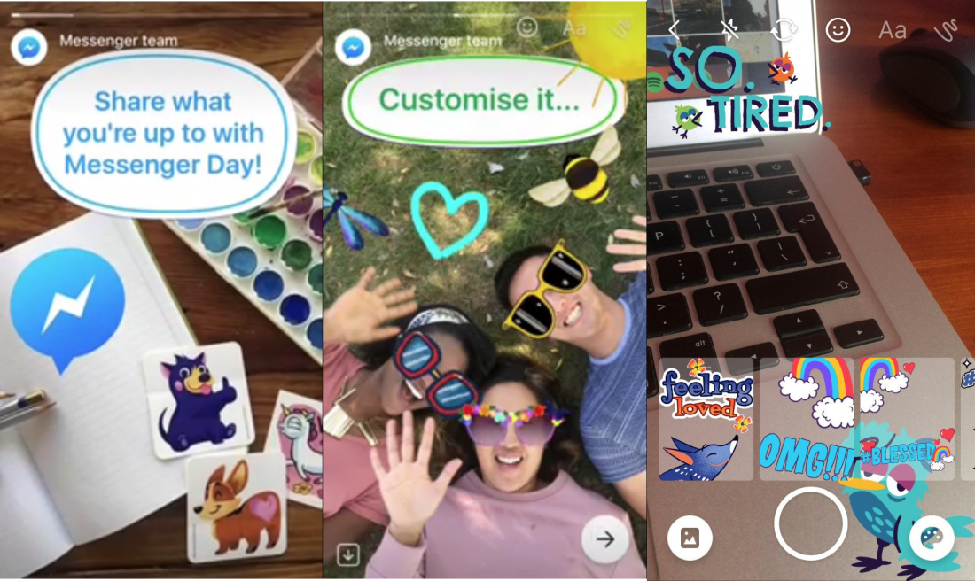 Facebook is testing a clone of Snapchat stories inside Messenger