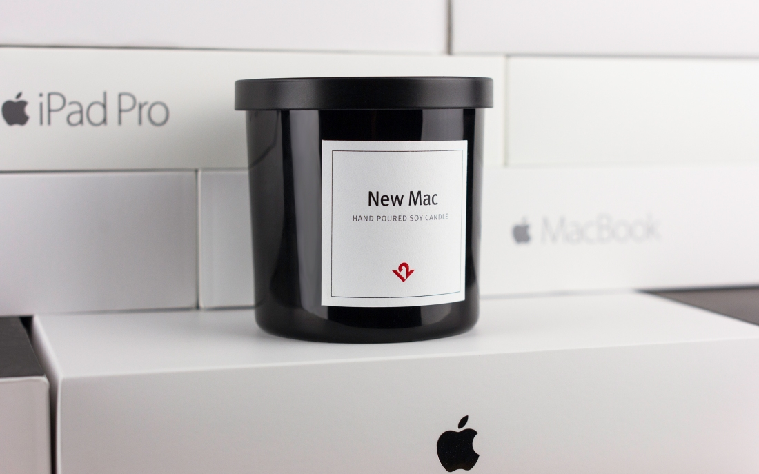 This candle will make your room smell like a new MacBook