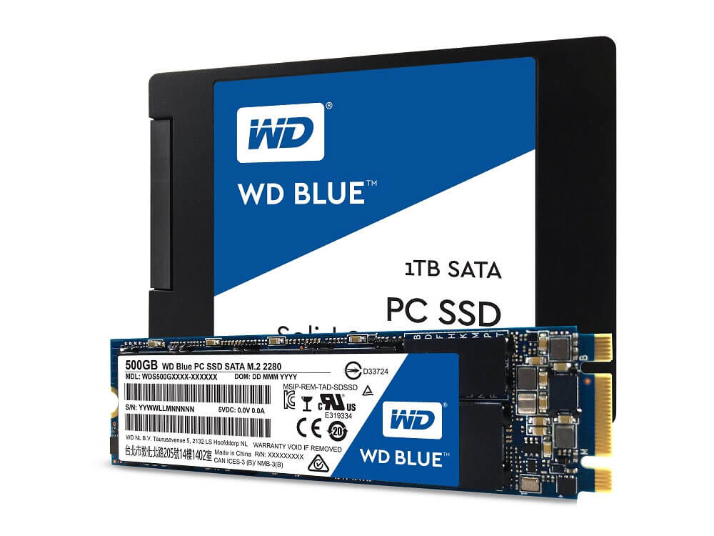 Western Digital returns to SSD market, launches Green and Blue drives