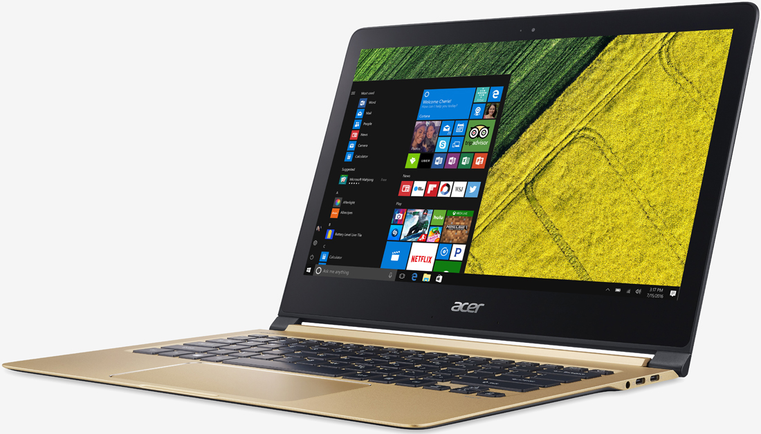 Acer captures world's thinnest notebook crown with new Swift 7