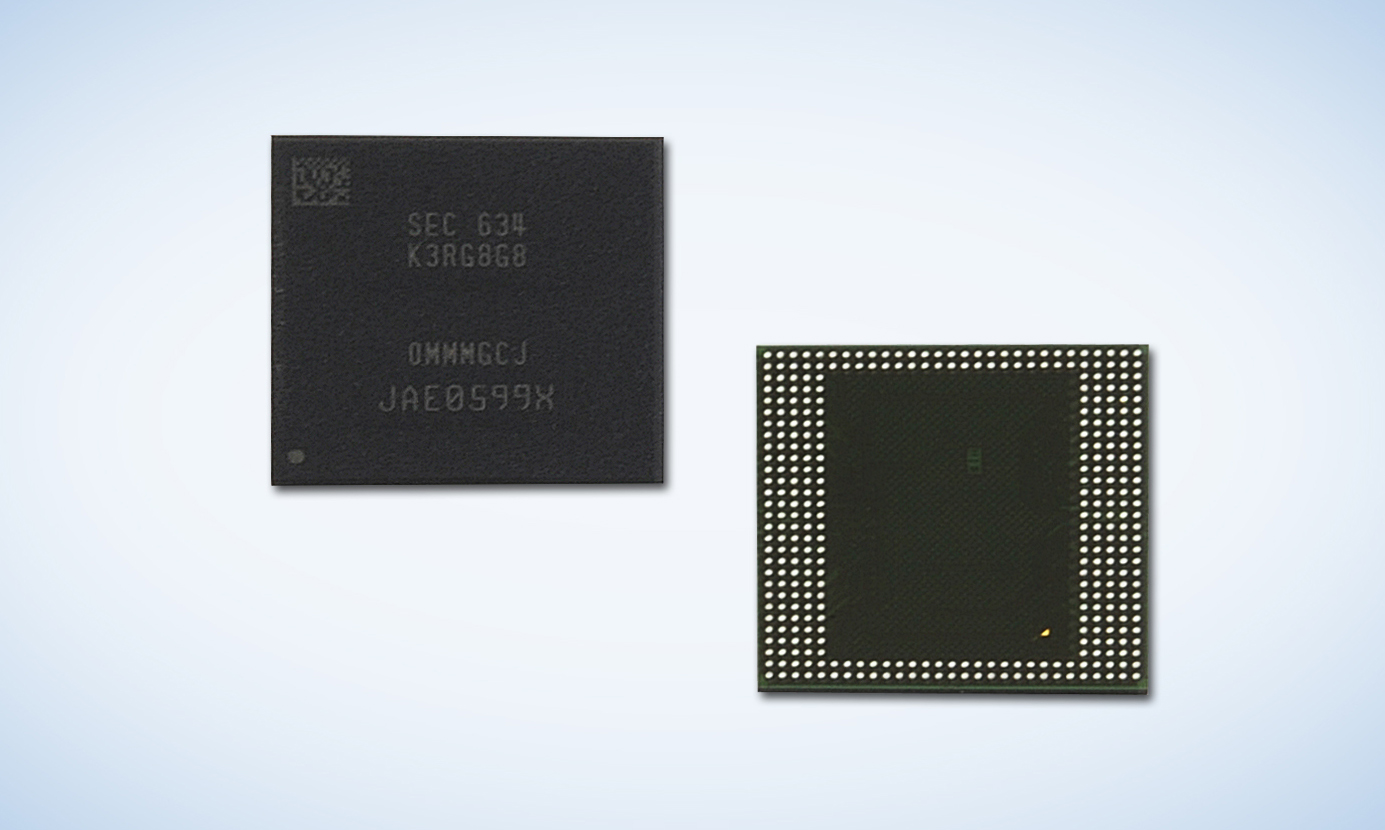 Samsung announces industry's first 8GB LPDDR4 memory package - TechSpot