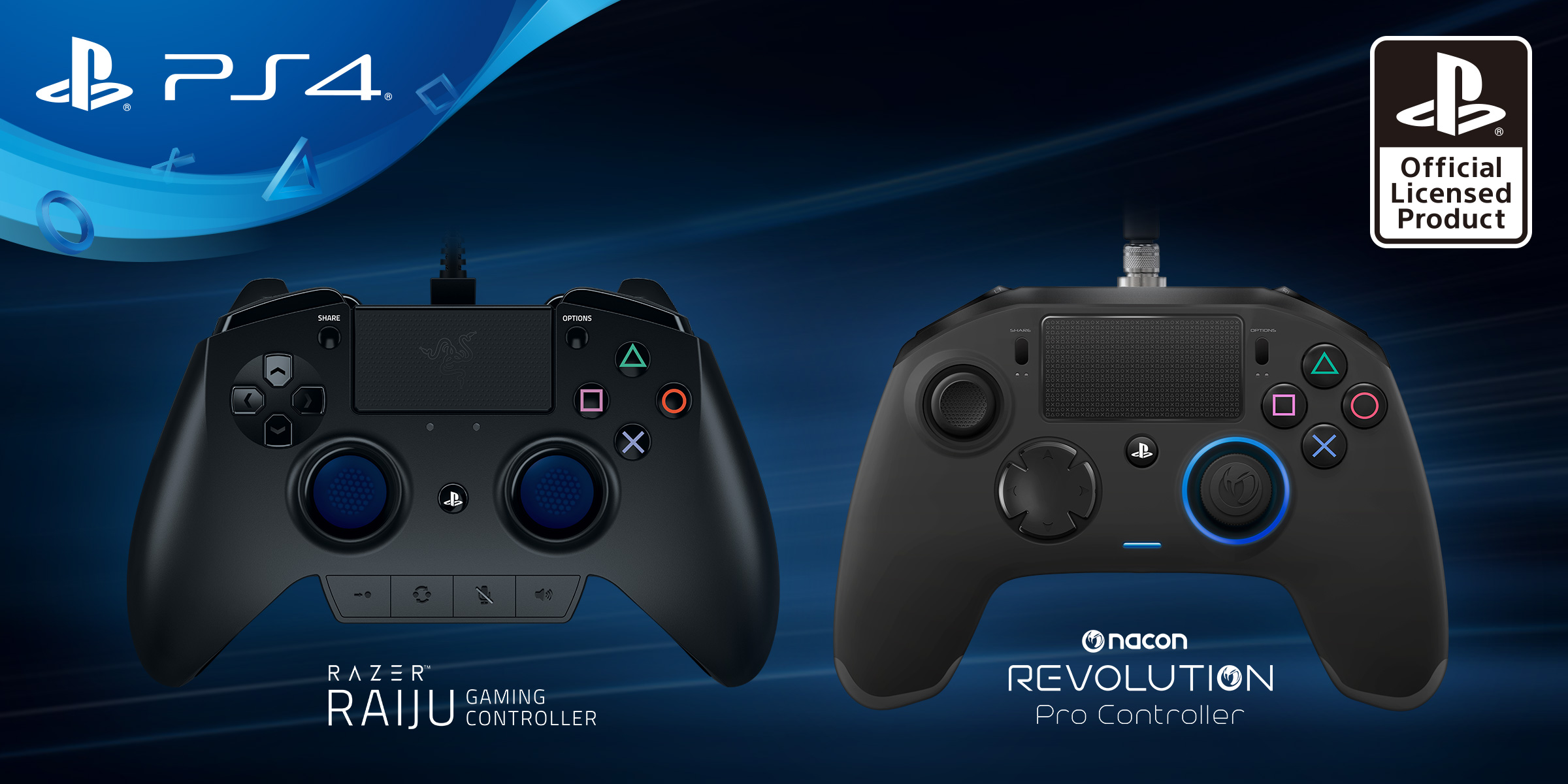 Sony recruits Razer, Nacon to build pro-level PlayStation 4 controllers