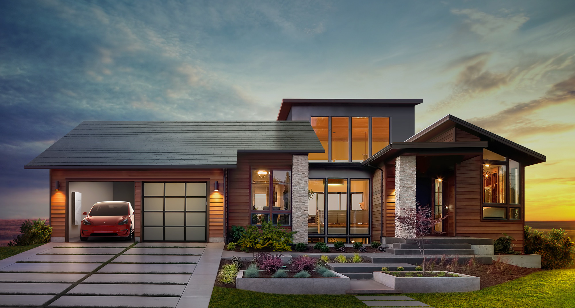 Tesla announces plans for solar roof, second-gen residential battery system