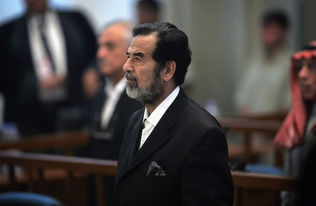 saddam hussein Former iraqi president saddam hussein ruled his country with an iron fist for more than two decades this historyplex write-up will enlighten you with important facts about saddam hussein.