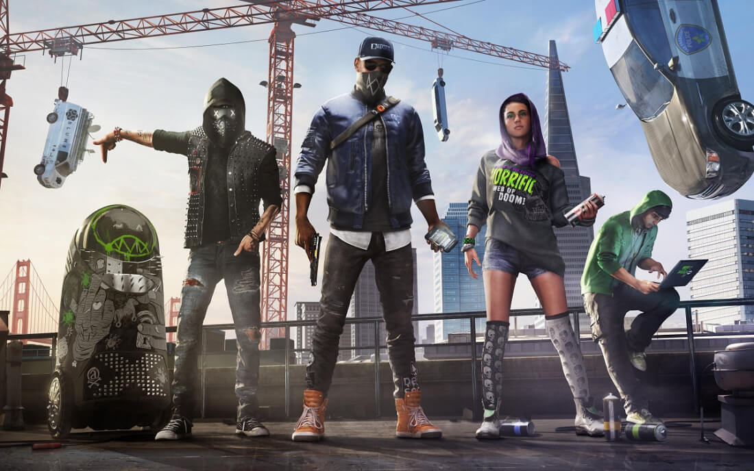 Samsung is giving away copies of Watch Dogs 2 with select SSDs and gaming monitors