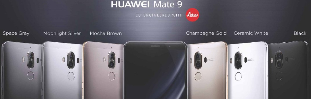 Huawei's new Mate 9 looks to fill the void left by Samsung's Galaxy Note 7
