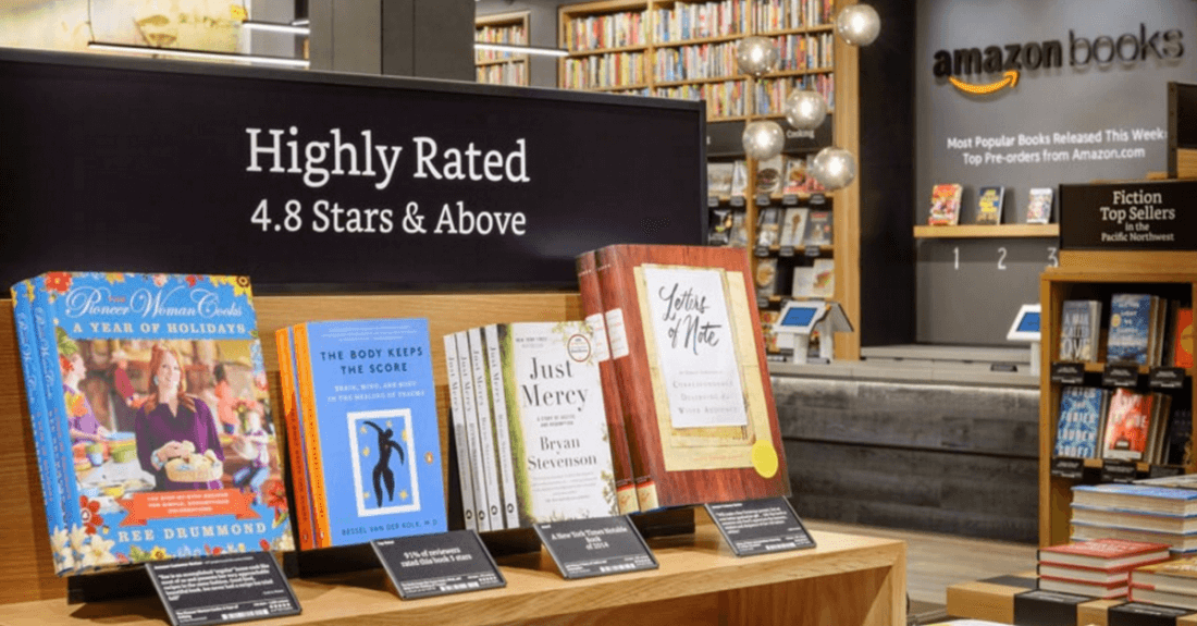 Non-Prime members now pay more in Amazon's physical bookstores