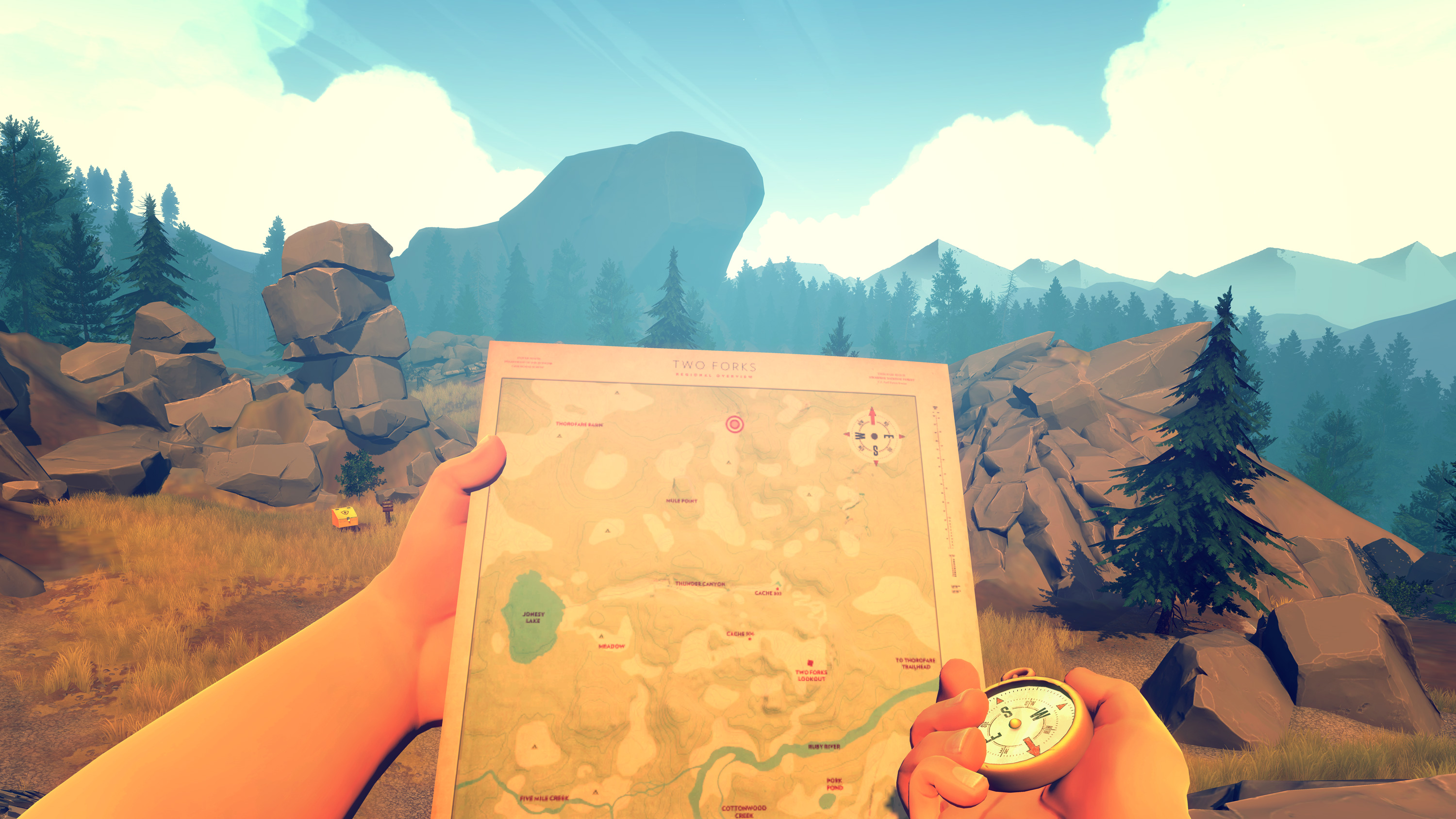 'Firewatch' patch adds free-roam mode, PlayStation 4 Pro support