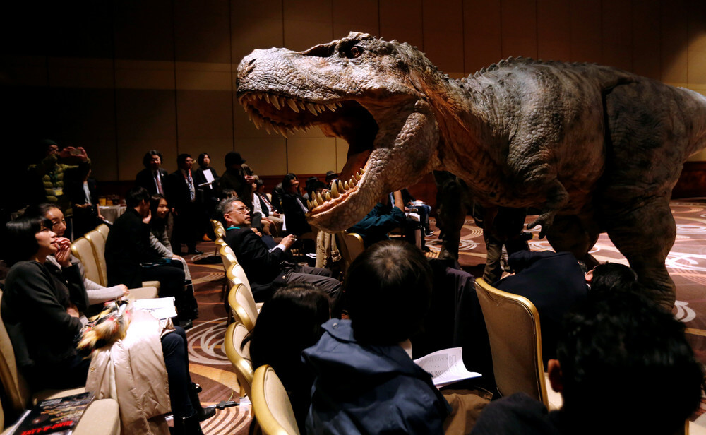 Japanese firm wants a real-life Jurassic Park with world's biggest, most realistic robot dinosaurs