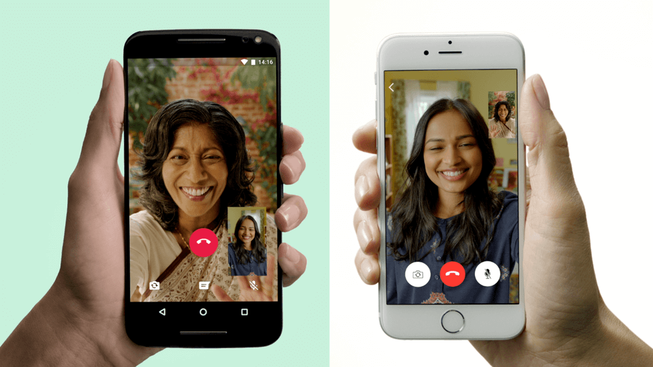 WhatsApp's free video calling feature is rolling out now
