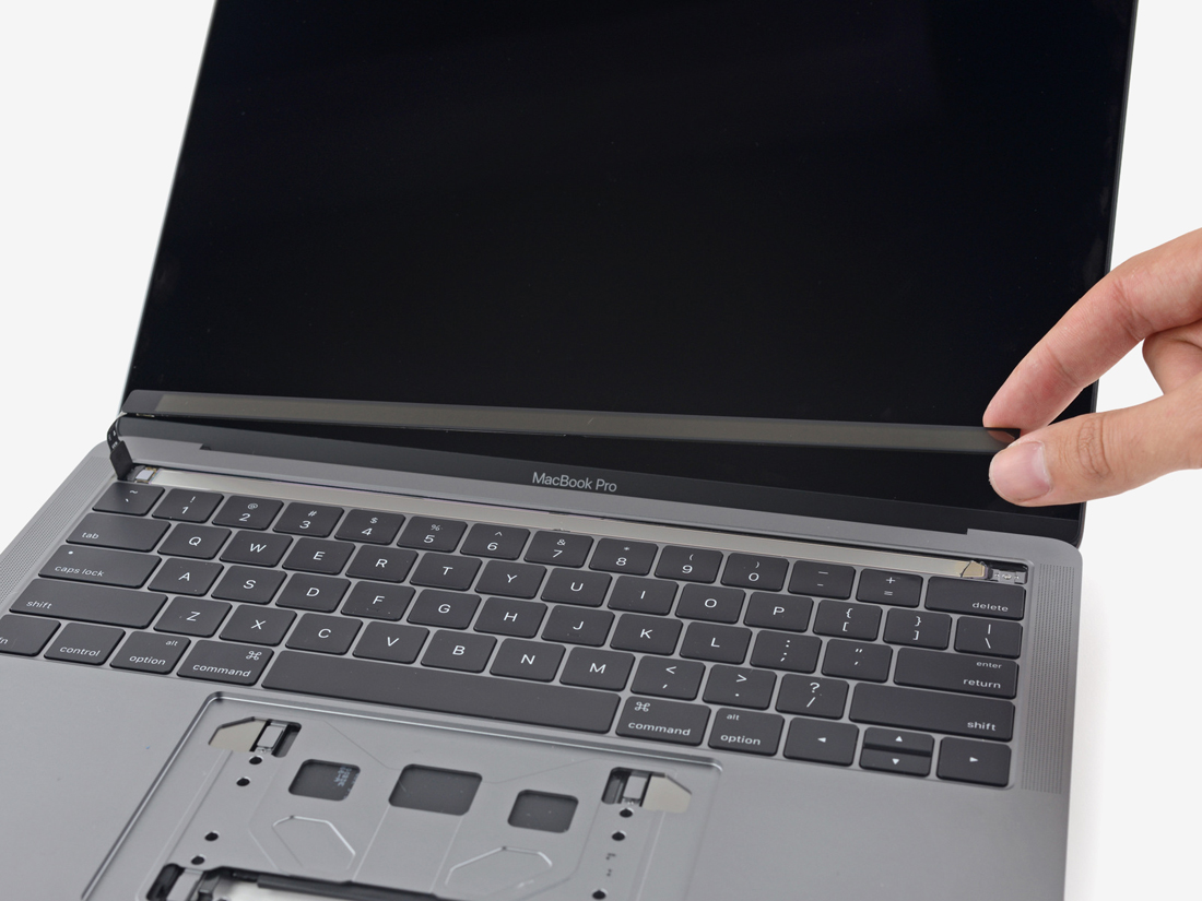 Teardown Of 13 Inch Macbook Pro With Touch Bar Reveals