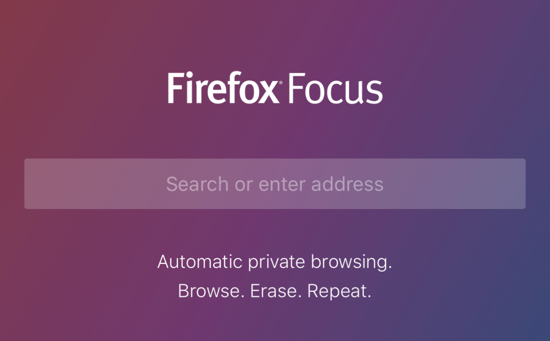 Firefox Focus for iOS makes private browsing quick and easy