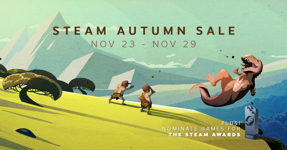 The Steam Autumn (Black Friday) Sale is now live