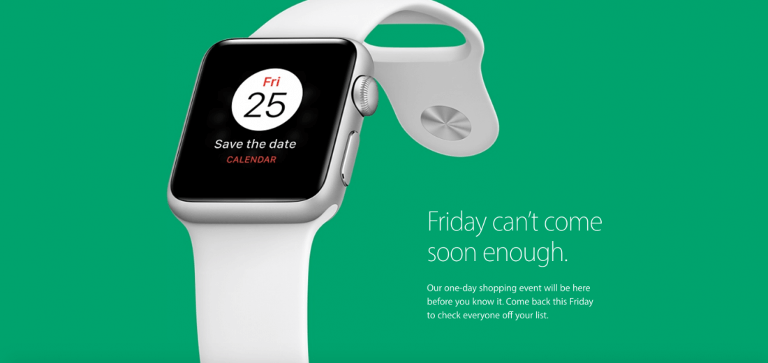 Apple announces it will take part in this year's Black Friday