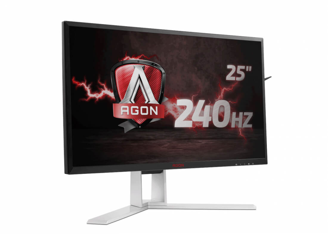 AOC launches 25-inch FreeSync monitor with 240Hz refresh
