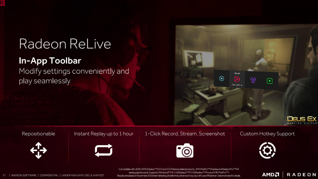 AMD's Crimson ReLive Edition driver update brings a host of