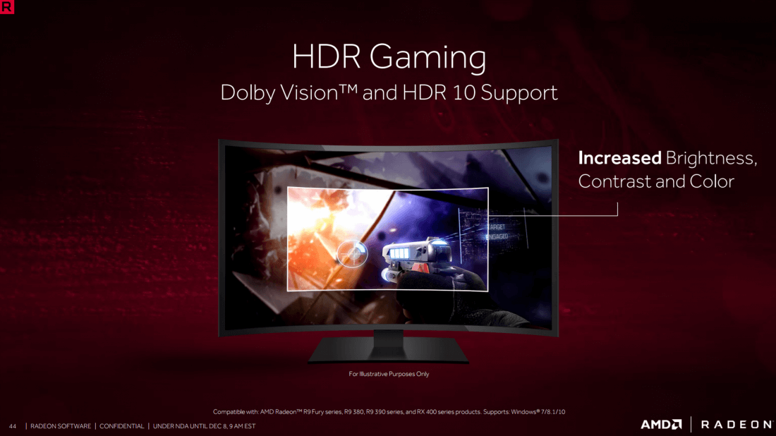 AMD's Crimson ReLive Edition driver update brings a host of gaming
